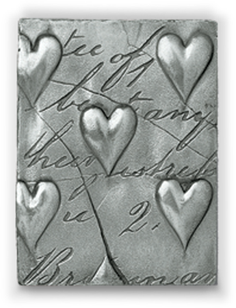 Hearts with Script