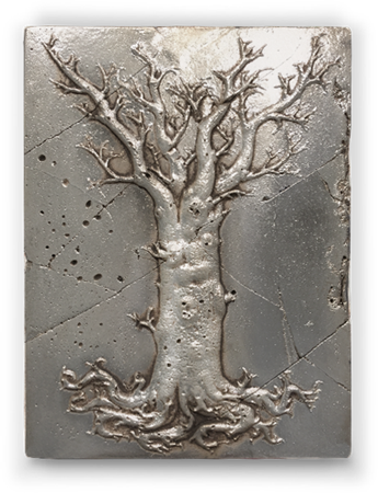 Tree of Life - Evolution (Silver)